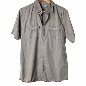 J. Lindeberg slim fit button down casual shirt